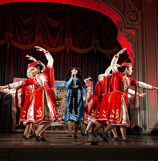 Театрализованный концерт Армстайл
