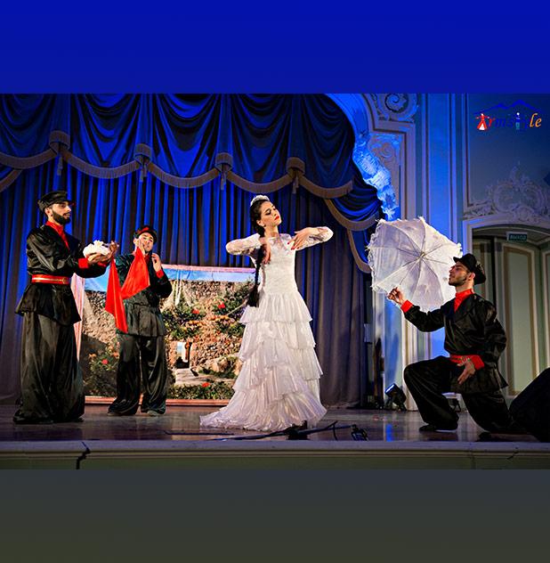 Праздничный концерт армянских исполнителей
