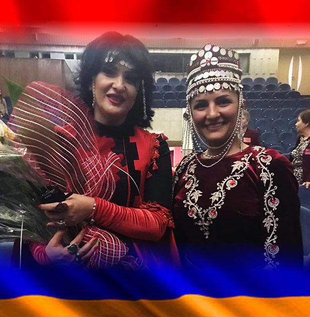 1-м место на четвертом международном конкурсе армянских народных танцев