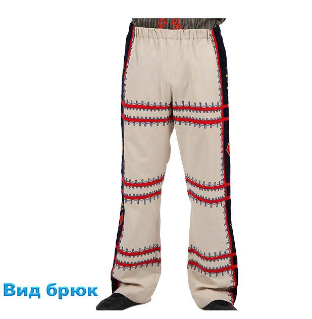 Костюм Кочари мужской. Вид брюк
