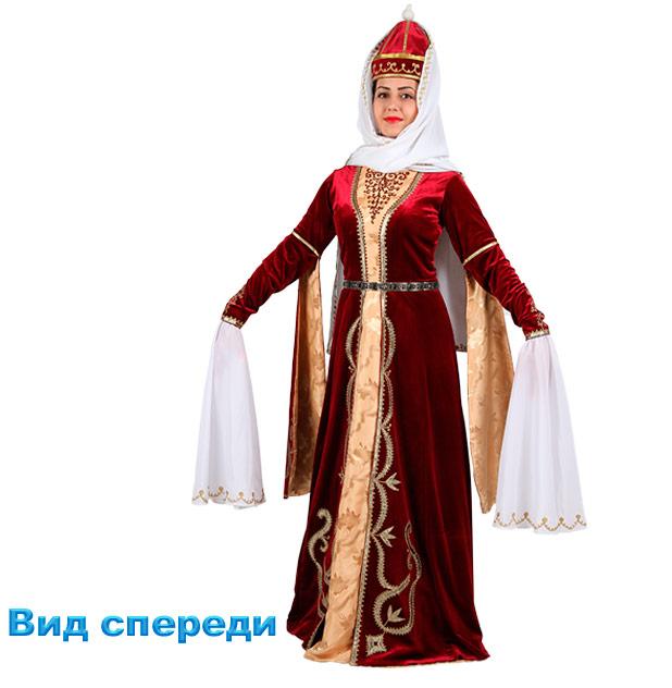 Костюм Лезгинки женский. Общий вид