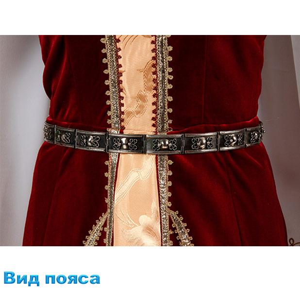 Костюм Лезгинки женский. Вид пояса.
