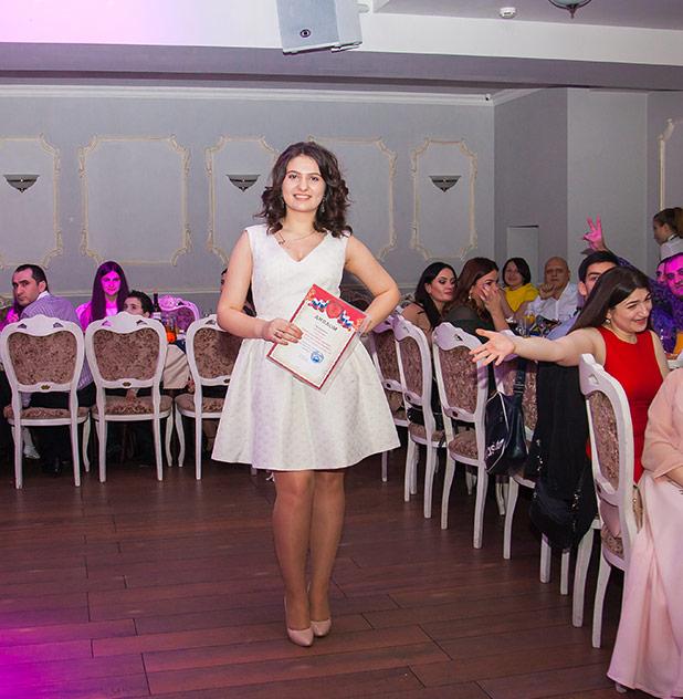 Вручение премий в сфере армянского танца