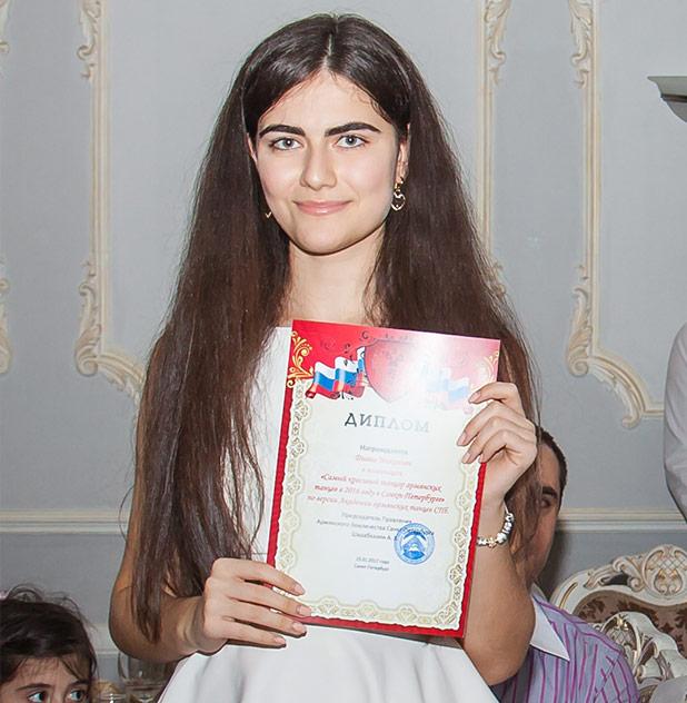 Армянский танец в Санкт-Петербурге