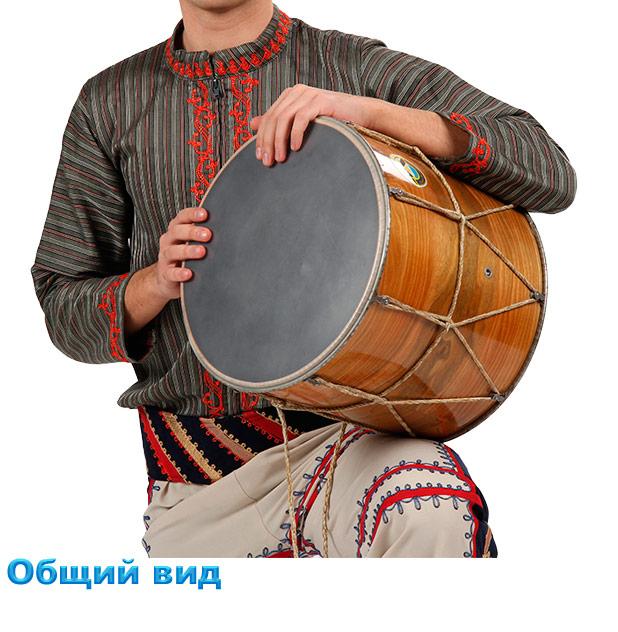 Барабан доол. Обший вид