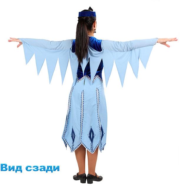 Танцевальный костюм Севан. Вид сзади