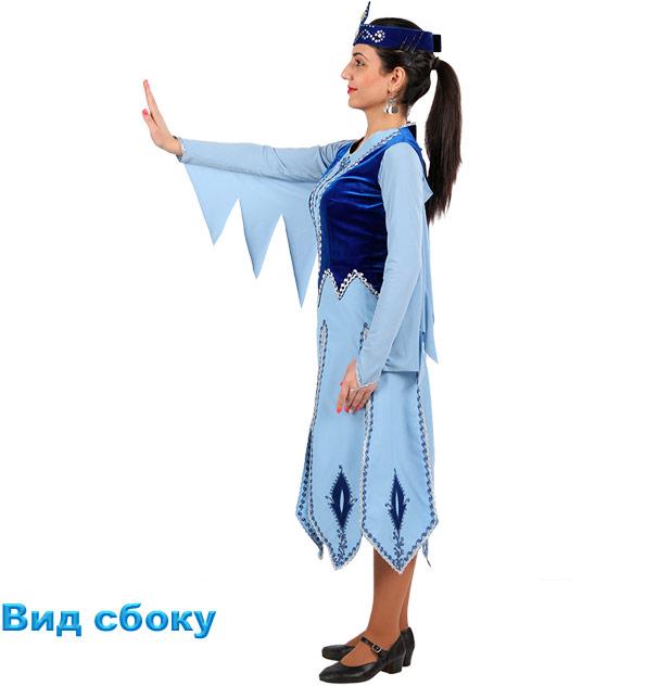 Танцевальный костюм Севан. Вид сбоку