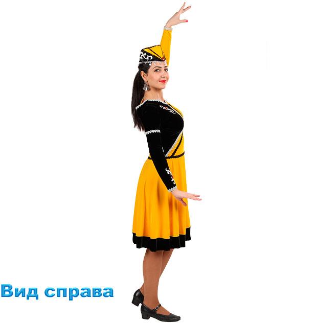 Женский танцевальный костюм Шалахо. Вид справа