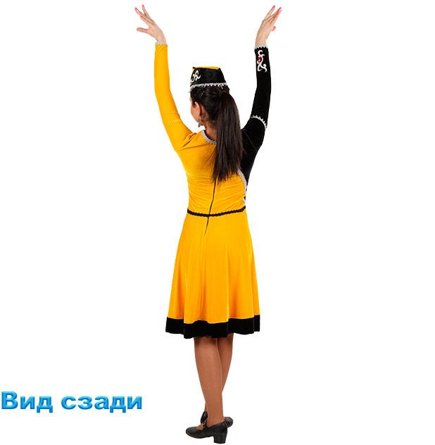 Женский танцевальный костюм Шалахо. Вид сзади