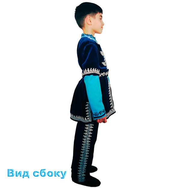 Детский синий костюм