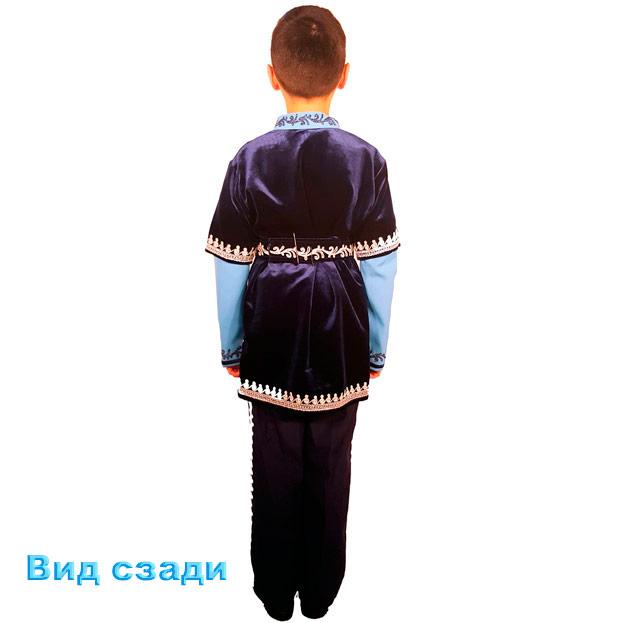Детский мужской синий костюм